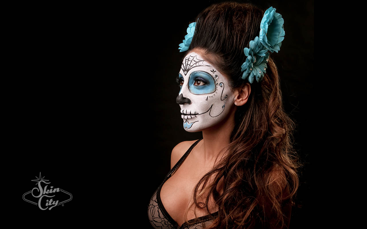 Skin City Sugar Skull Face Paint