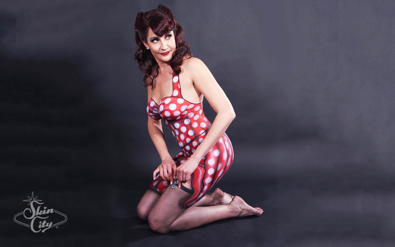 Skin City Pin Up Body Paint