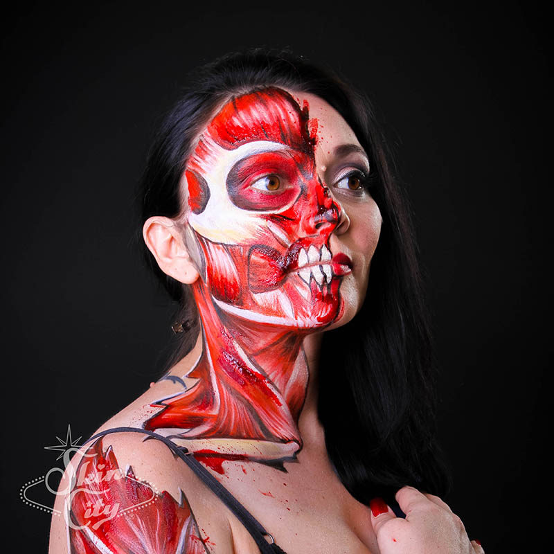 Skin City Living Body Body Paint