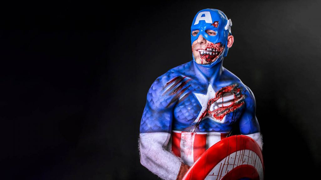 Body Painting Event Planning Things To Do In Las Vegas Skin City