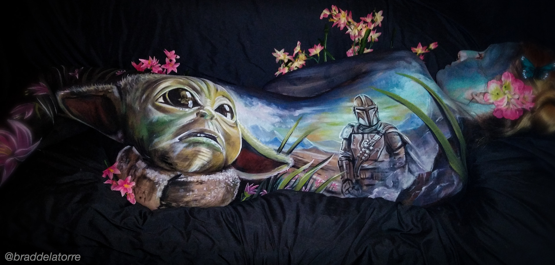 May the 4th Be Floral Skin City Contest - Brad De La Torre from the USA - First Place