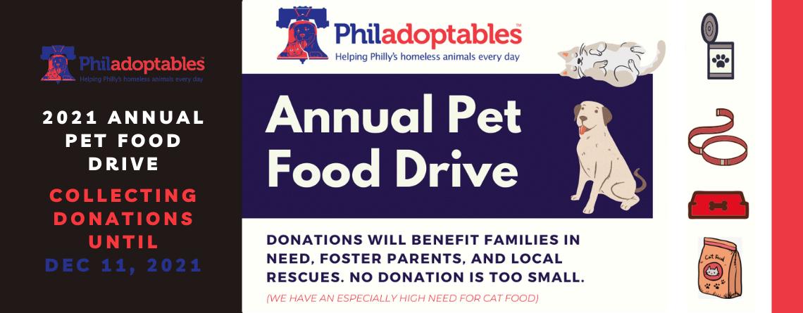 Annual Pet Food Drive – 2021