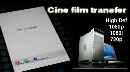 cine to DVD conversion