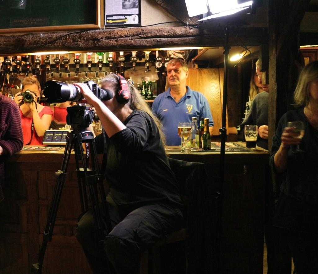 video shoot Six Bells