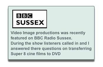 cine film to DVD BBC