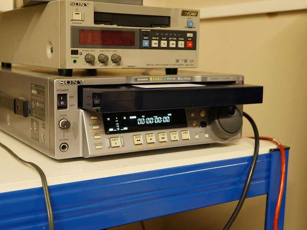 Beta SP tape conversion