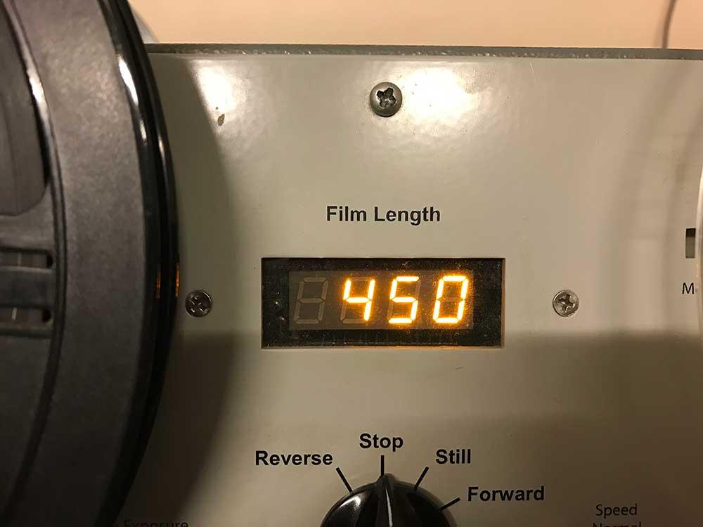 8mm film lengths