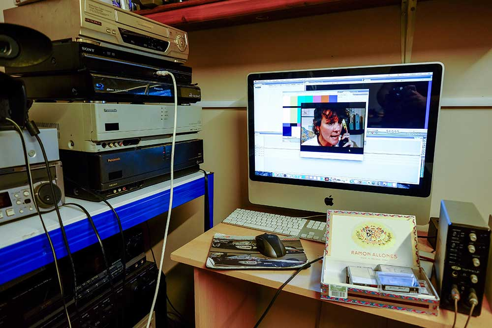 Digital video tape transfer