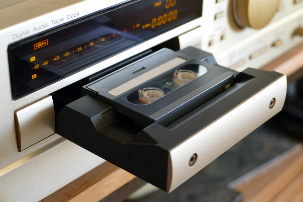 DAT audio tape transfer