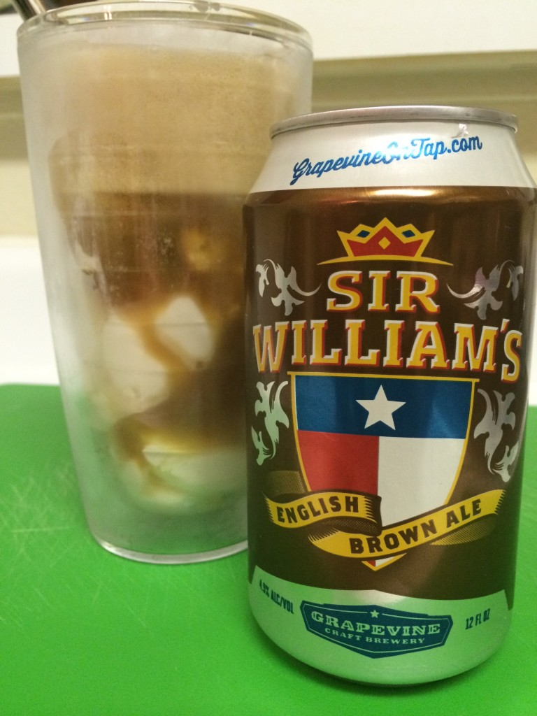 Sir Wiliam's Beer Float - Finish Product