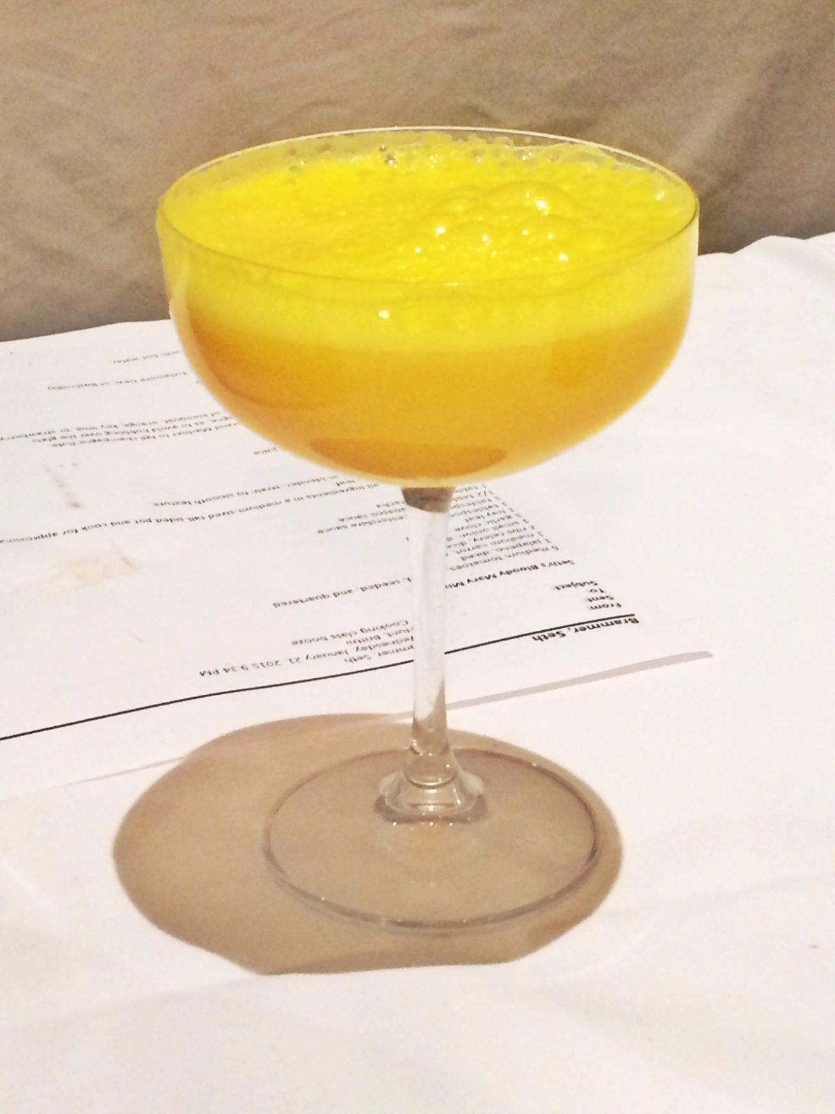 Fresh Pressed Mimosa