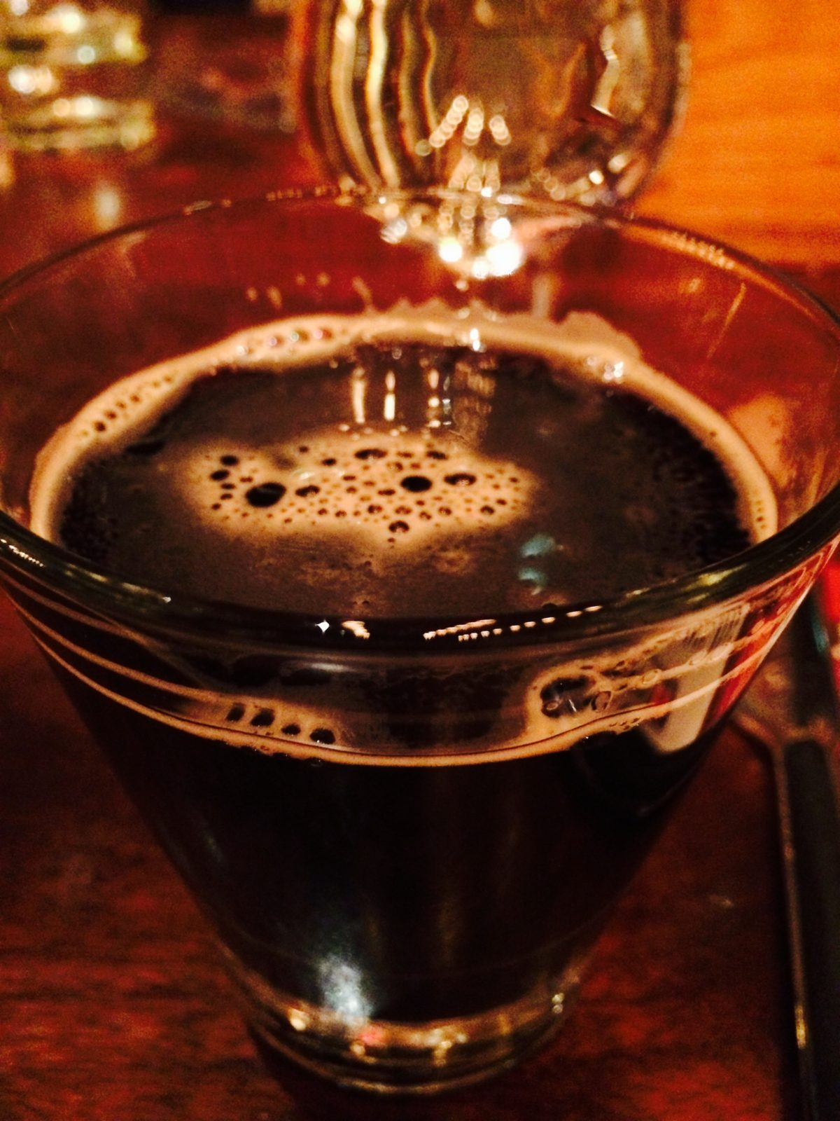 Obsidian Stout from Deschutes Brewery Beer Dinner at Cook Hall Dallas