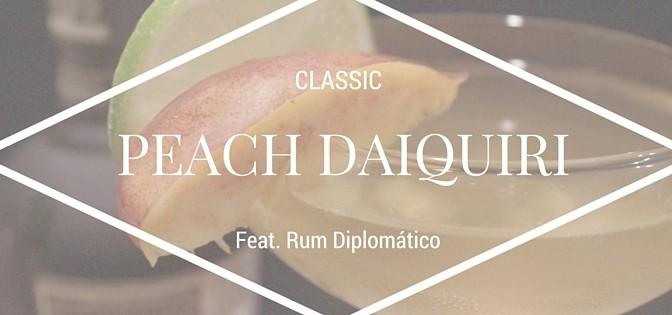 Classic Peach Daiquiri Recipe