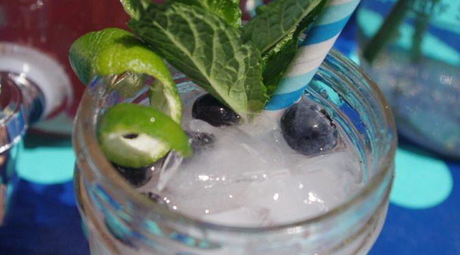 Cruzan Rum Blueberry Mojitos