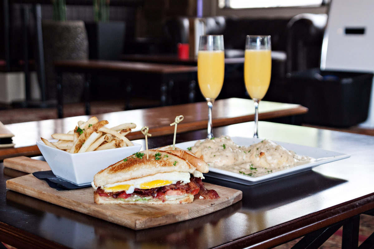 Breakfast BLT & Buttermilk Biscuits & Sausage Gravy