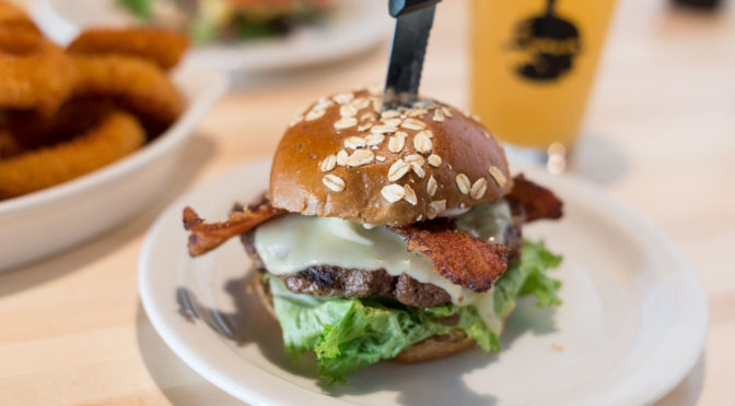 Slater's 50/50 – Burgers, Bacon, Beer