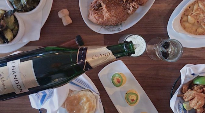 Fried Chicken + Bubbles = the Dream Team