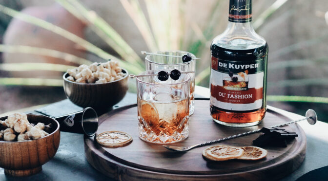 Pour a Drink & Stay In with DeKuyper's Classic Ol' Fashion Liqueur