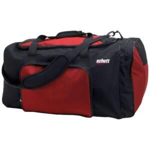 Schutt Varsity Individual Bag Black Scarlet