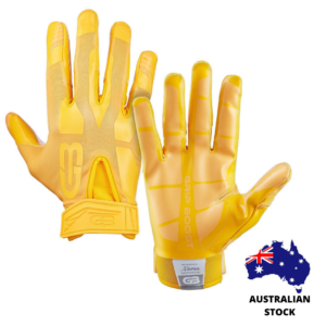 Grip Boost Stealth Solid Color Football Gloves Pro Elite