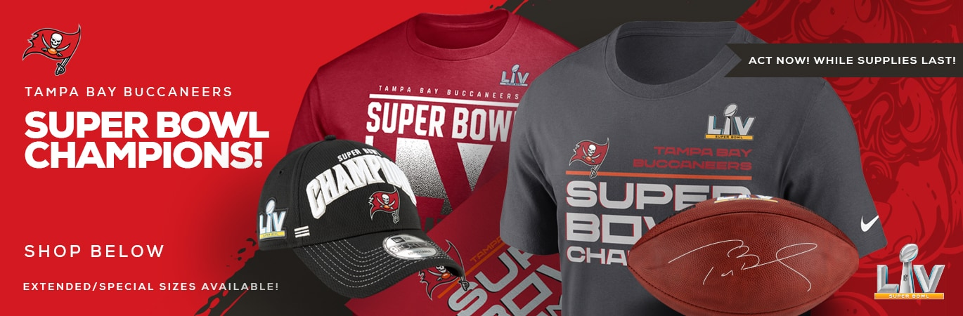 Tampa Bay Buccaneers Superbowl Champs Gear