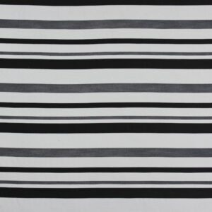 HARBING STRIPE BLACK WHITE