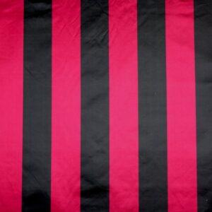 GRANDE RAYURE SATIN RED/BLACK