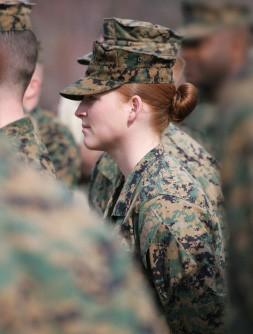 15385658-woman-marine