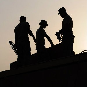 roofers with construction accident injuries