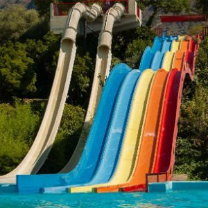 water slide personal injury