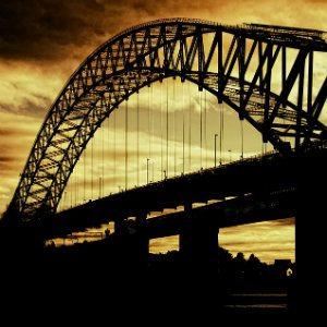 bridge that is undergoing reconstruction