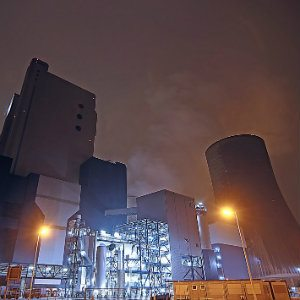 coal fueled power plant