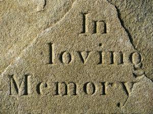 headstone of a deceased worker