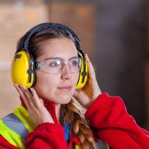 woman in a dangerous industry