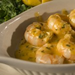 Garlic Tiger Prawns