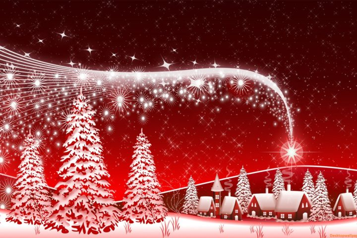 Christmas wall paper