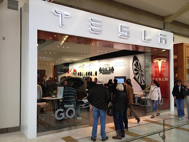 Telsa Bellevue Square Now Open