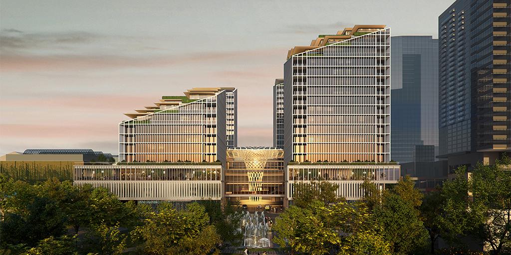 The Bellevue - Bellevue Square Expansion Exterior of building