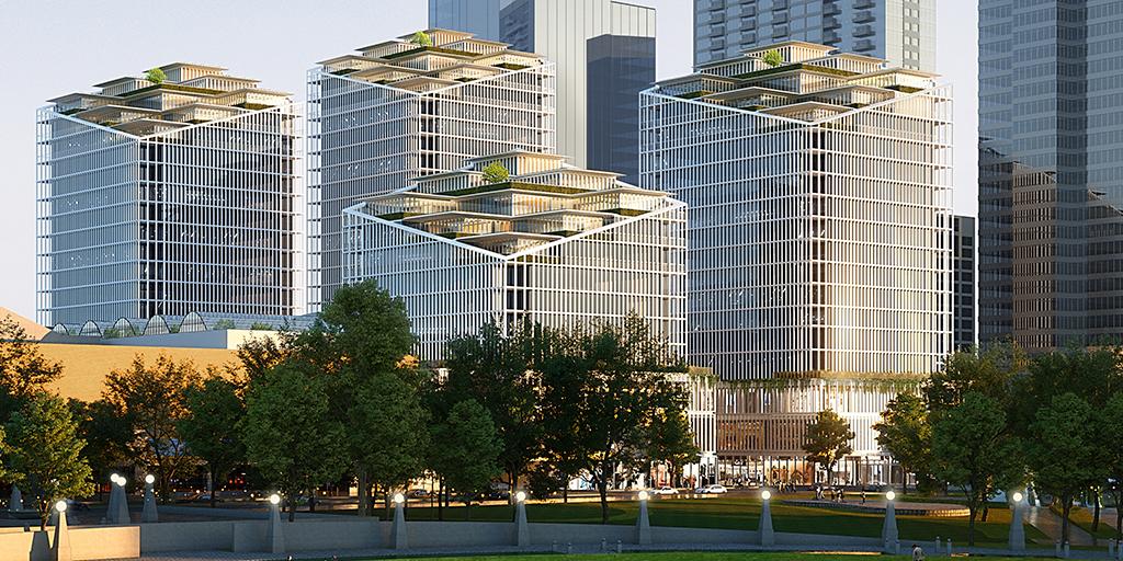 The Bellevue - Bellevue Square Expansion Exterior