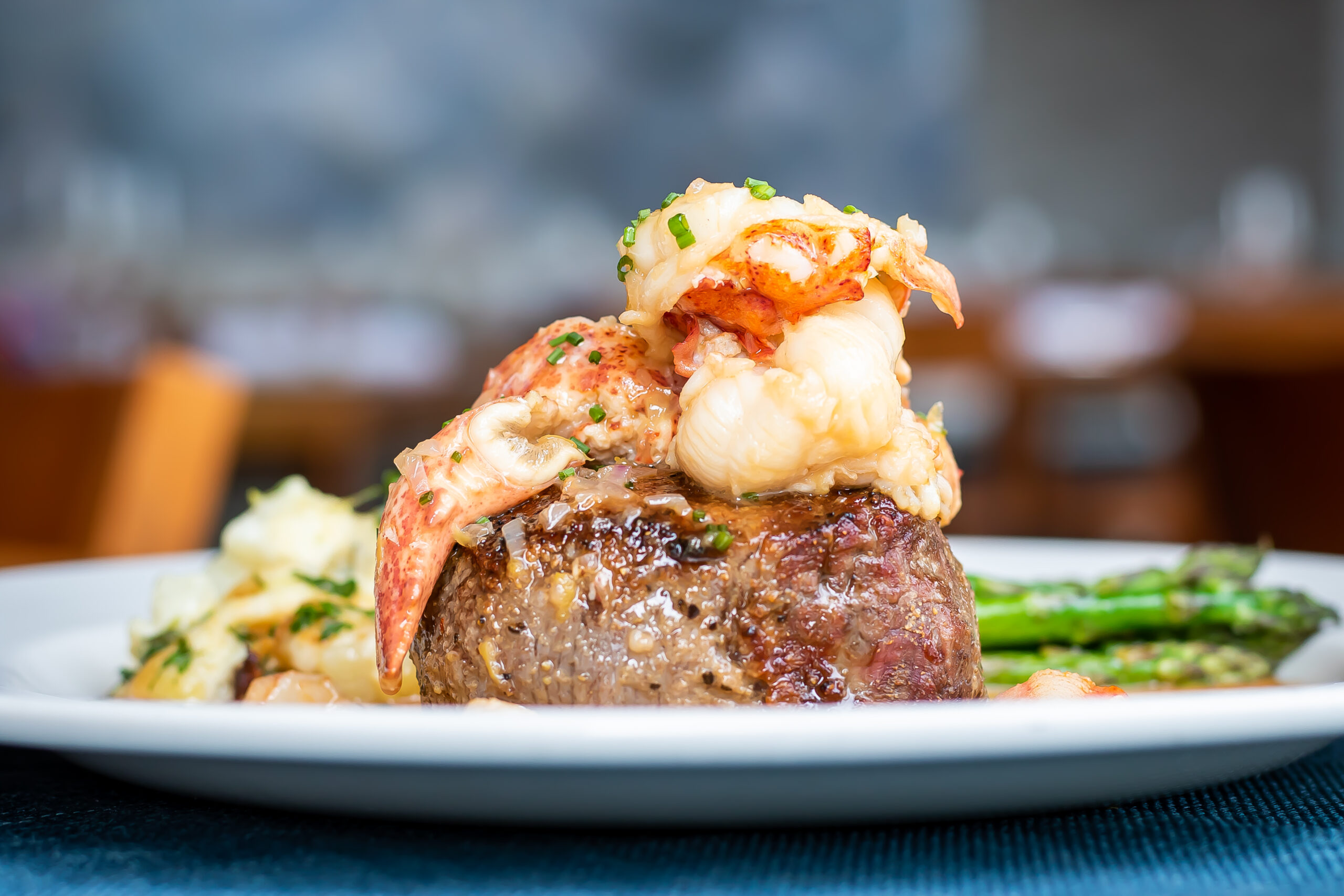 Steak and Lobster at Seastar Restaurant and Raw Bar