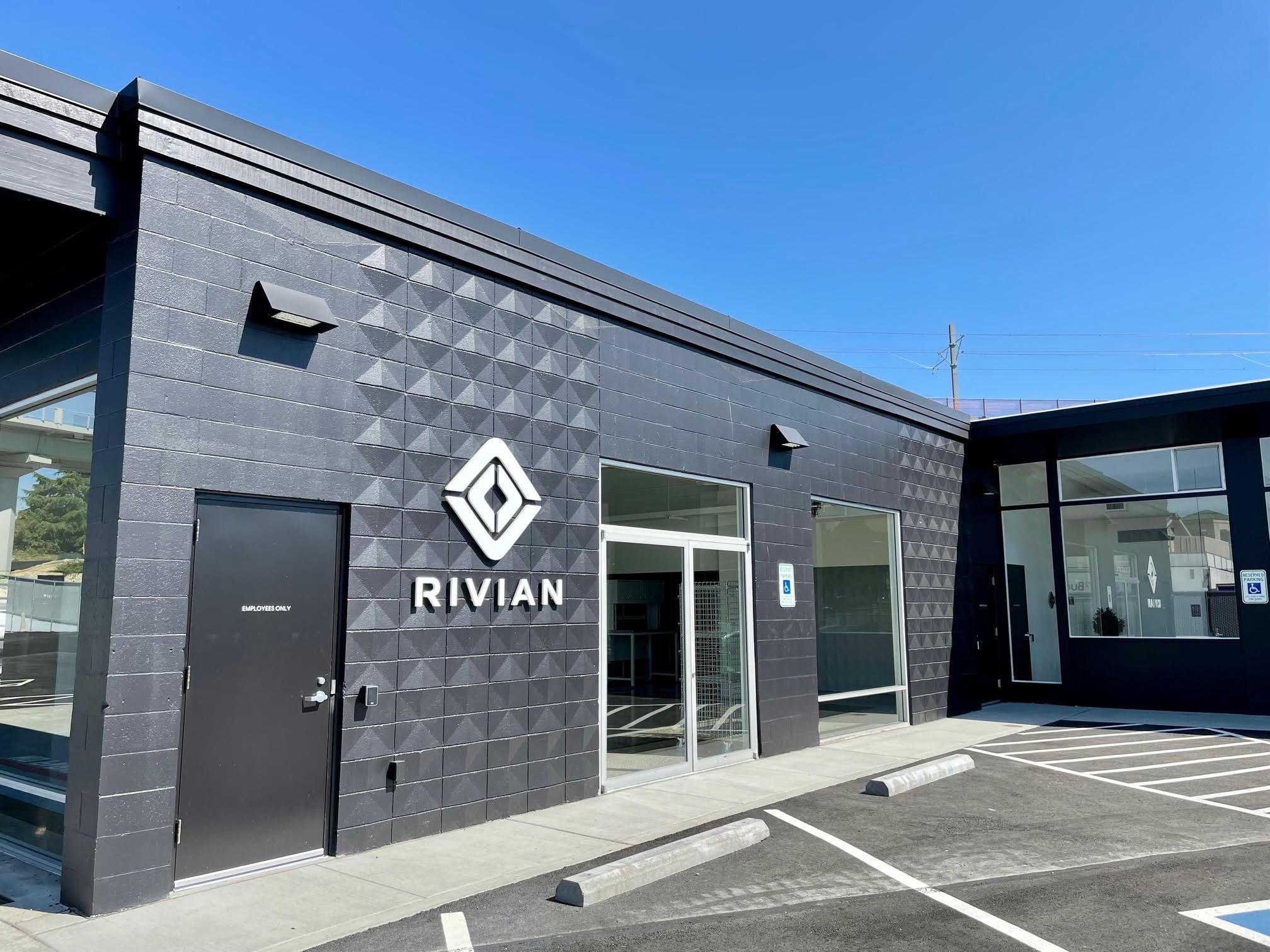 Rivian Electric Car Company 116th Ave NE in Bellevue