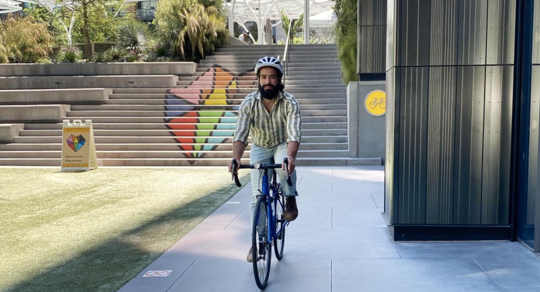Amazon Bellevue Bike-to-Work Benefits