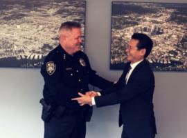 Bellevue Police Department Chief Mylett