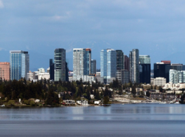 Bellevue City Skyline