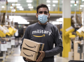 Amazon Hiring Veterans and Military Spouses