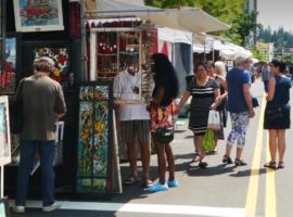 Bellevue Downtown Arts Market
