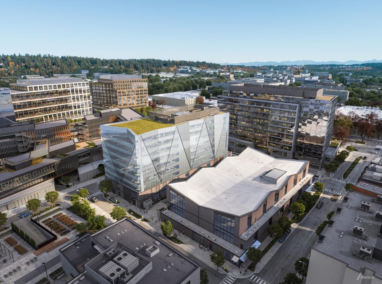 Block 13 of the Spring District in Bellevue