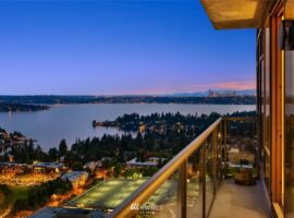 38th floor of One Lincoln Tower in Bellevue