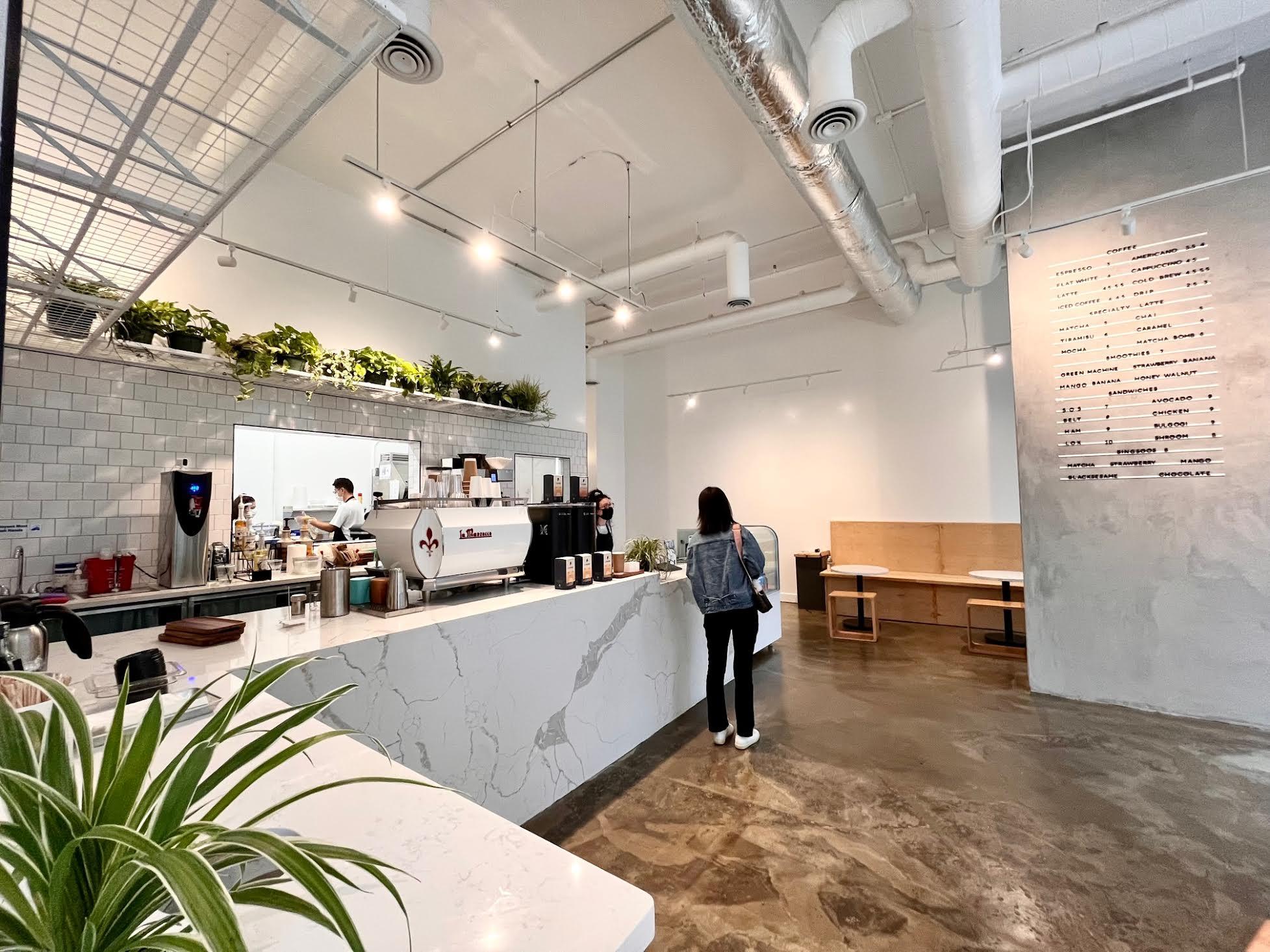 Semicolon Cafe in Bellevue