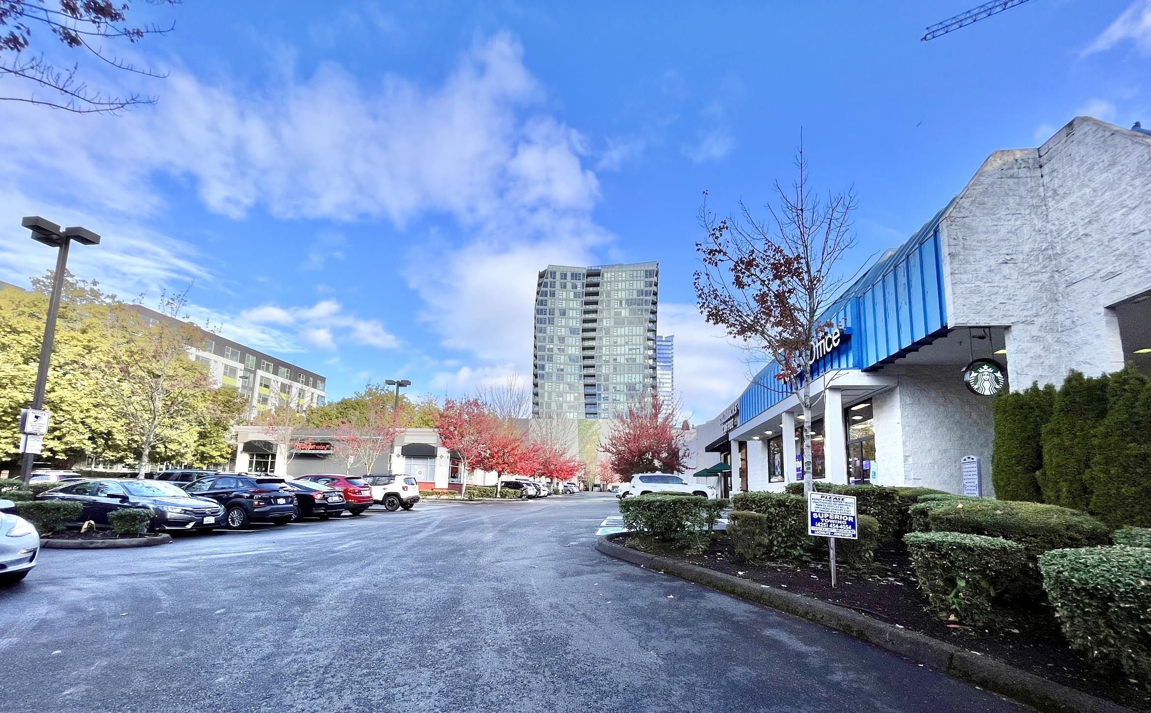 Bosa downtown Bellevue Fedex